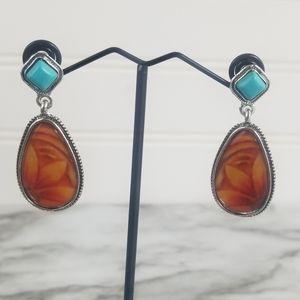 2/$20 Boho/Western Style Drop Earrings